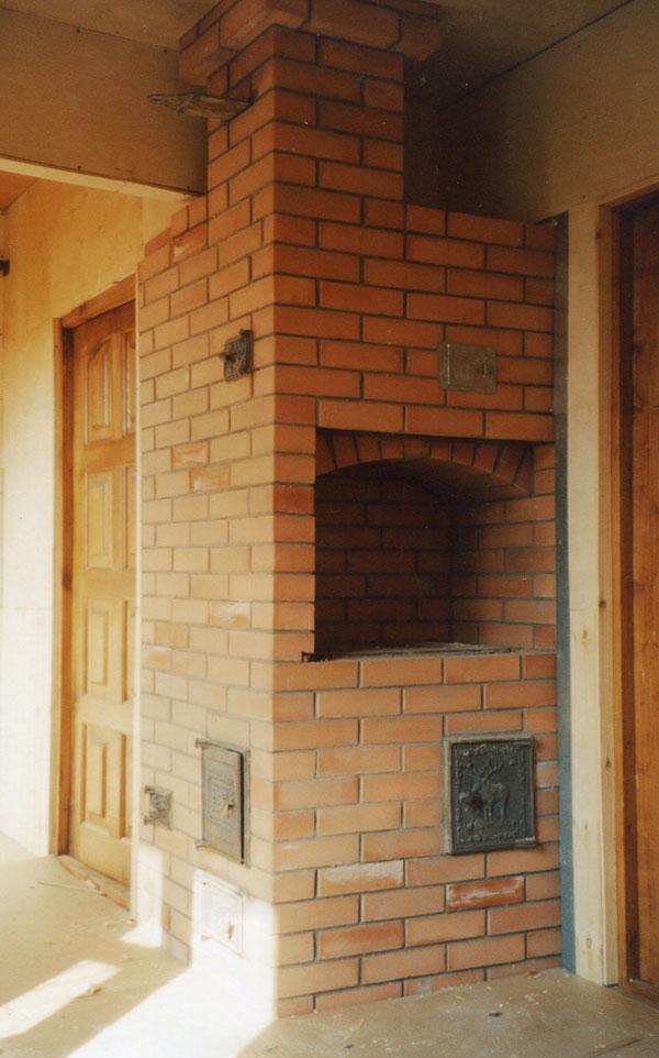печь из кирпича без плиты Бронниц: каталог объектов